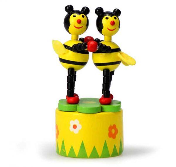 Holz Wackel Bienen