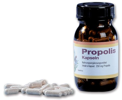 Propolis-Kapseln