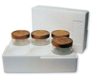 Styropor-Versandpackung