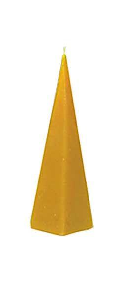Gießform Pyramide, glatt, 6-eckig
